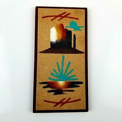$ CDN16.36 • Buy Navajo Sand Painting Esther Yazzie Native American Art Signed 8