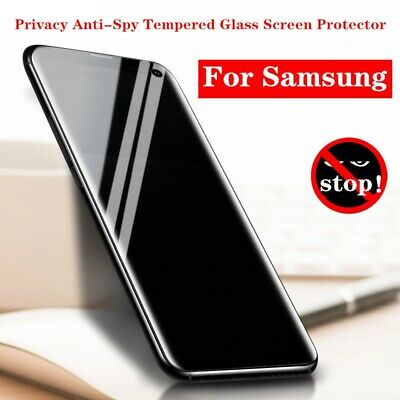 $ CDN5.95 • Buy Privacy Anti-Spy Tempered Glass Screen Protector For Samsung Note 10 20 S10 S20