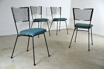 AU1350 • Buy X4 Woods Williams Mid Century Dining Chairs Rare Aussie MCM Clement Meadmore