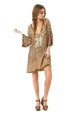 AU46 • Buy Bnwt Sold Out Spell Designs Stardust Sequin Dress Size S