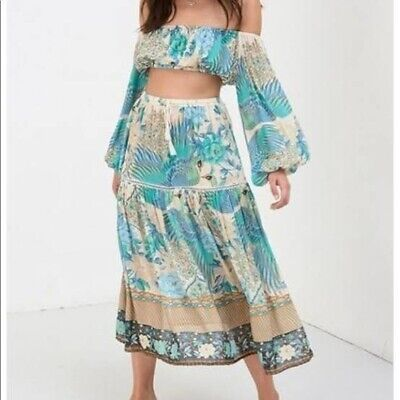 AU105 • Buy Bnwot Sold Out Spell Designs Cloud Dancer Top And Skirt Set Size S & M