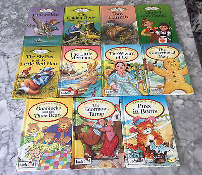 Ladybird Books Bundle X 11 Favourite Tales, Well Loved Tales • 4.99£
