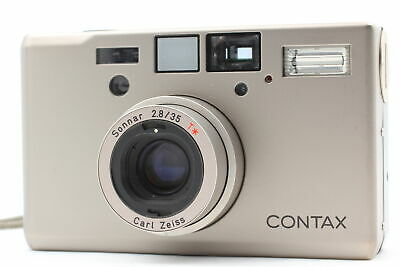 $ CDN2278.25 • Buy [Near MINT] Contax T3D Double Teeth Titan Silver Point & Shoot Camera From JAPAN