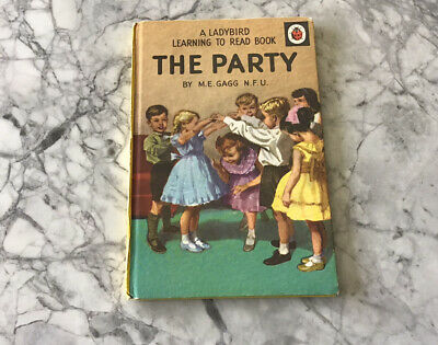 Vintage Ladybird Book THE PARTY • 7.99£
