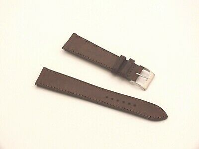 Genuine Leather Quick Release Watch Strap 20mm Brown By Geckota • 5.19£
