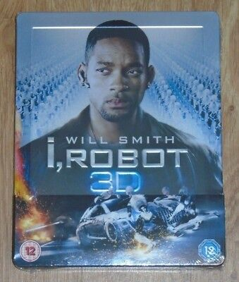I, Robot 3D - Steelbook - Blu-ray. New And Sealed, UK Release. • 25.99£