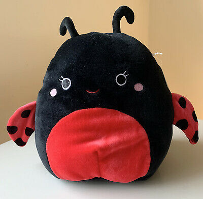"BNWT Trudy The Ladybird Ladybug Dog Squishmallow Soft Cuddly Animal Toy 7"" 18cm • 16.99£"
