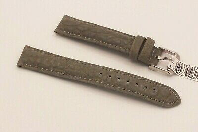 Morellato Racing Cuoio Sport Line Padded Watch Strap 18mm Olive Green • 4.20£