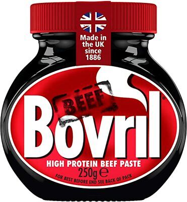 £8.80 • Buy Bovril Paste Jar-250g - Beef Extract Drink, Spread Or Add To Meat Dishes