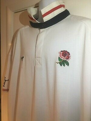 England Rugby Top Cotton Traders White Home 4XL Xxxxl Mighty Six Nations Sports  • 4.99£