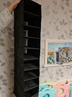 IKEA SKUBB Hanging Wardrobe Organiser Divider 9 Compartments Clothes/Shoes X 2 • 2.99£