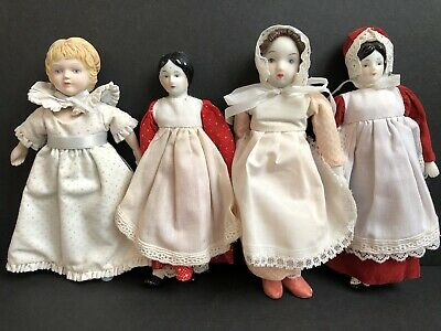 $ CDN22.63 • Buy Lot Of 4 Vintage Porcelain And China Miniature Dolls. Avon Doll
