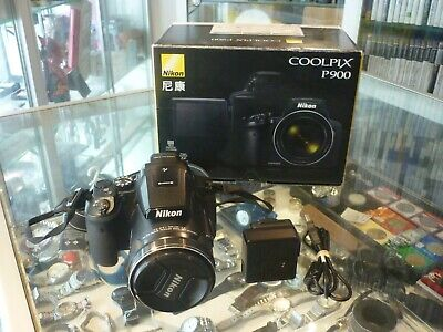 Nikon Coolpix P900 16 Megapixels Digital Camera In Box  For Parts Or Not Working • 146.89£