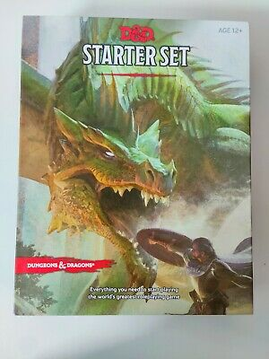 AU15 • Buy D&D Dungeons And Dragons Starter Set, Opened But Not Used