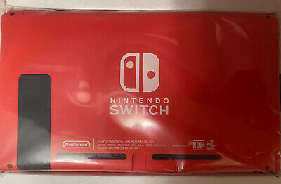 AU252.56 • Buy Nintendo Switch Limited Edition Red Console Tablet Only