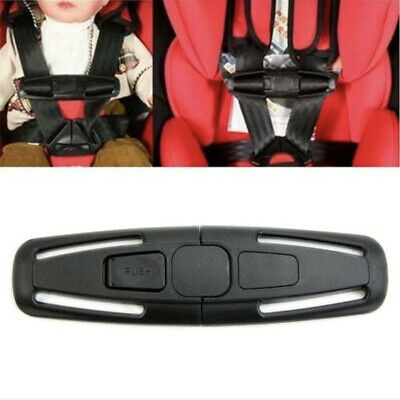 Child Baby Car Safety Seat Buckle Clip Strap Belt Toddler Chest Harness Safe Pad • 2.19£
