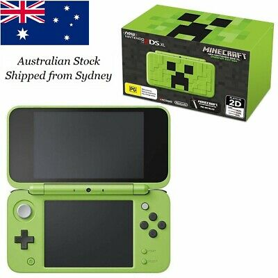 AU399.95 • Buy Brand New Nintendo 2DS XL Minecraft Creeper Special Edition + Game Collectors Ed
