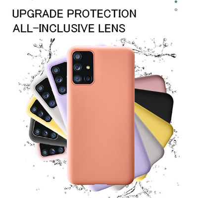 AU1.10 • Buy Samsung S21 S20 Plus Note 20 Ultra 10 S8 S9  Shockproof Silicone Cover Slim Case
