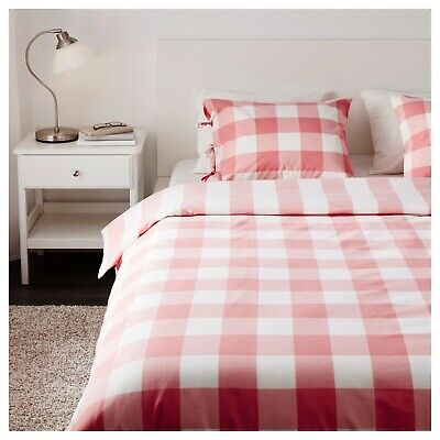 Ikea Pink Single Duvet Set REVERSIBLE • 1.60£