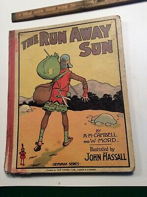 Vintage Childrens Book Runaway Sun Illustrated By John Hassall • 15£