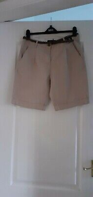 New With Tags. Ladies Primark. Beige  Shorts. Size 12. • 1.40£