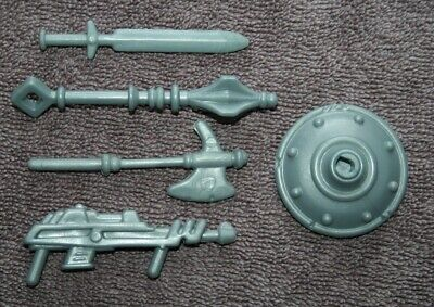 $15.99 • Buy MOTU - Masters Of The Universe - Castle Grayskull Gray Weapons Pack - Excellent!