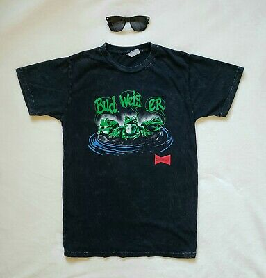 $ CDN17.64 • Buy Vintage 90s Budweiser Frogs Your Pad Or Mine T Shirt