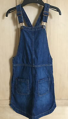 Gap Kids Girls Dungarees Pinafore Denim Dress Age 10-11 • 2£