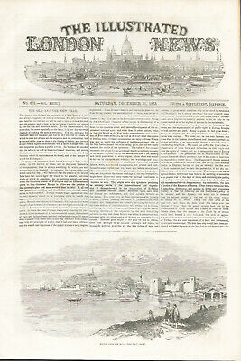 ILLUSTRATED LONDON NEWS 13 Issues - From 1853 CRIMEAN WAR - Outstanding  • 103.71£
