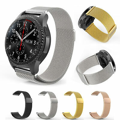 AU6.49 • Buy Magnetic Band Milanese Watch Strap For Samsung Gear S3 Frontier/Classic 22mm
