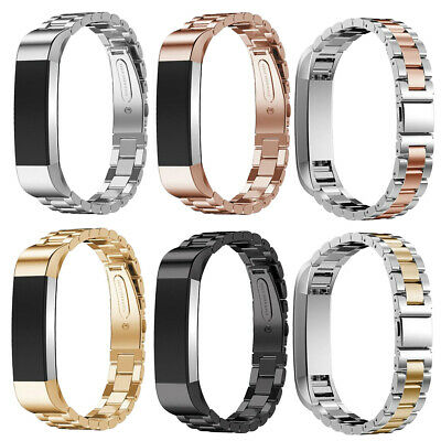 $ CDN19.13 • Buy For Fitbit Alta/Fitbit Alta HR Band Small Large Stainless Steel Metal Bracelet