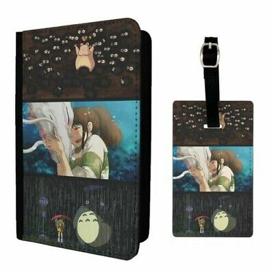 $ CDN29.61 • Buy Luggage Tag &/OR Passport Holder Studio Ghibli Cartoon Spirited Away - G852