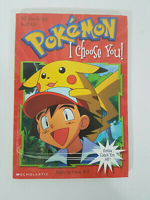 $11.68 • Buy I Choose You (Pokemon Chapter Book #1) By Scholastic Books