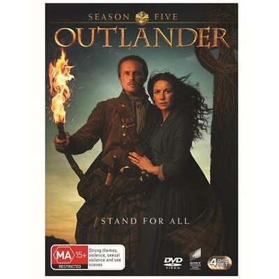 AU19 • Buy Outlander Season 5 Five Australian Release Region 4 Brand New & Sealed