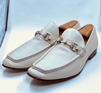 AU251.31 • Buy Gucci Men White Loafers