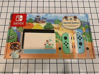 AU539 • Buy Nintendo Switch Animal Crossing: New Horizons Edition Console Brand New
