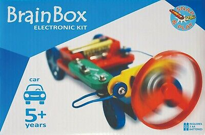 AU24.90 • Buy New BrainBox Car Experiment Kids Electronic Kit STEM Learning Make & Play Toy