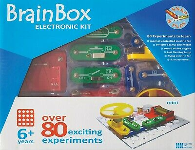 AU43.90 • Buy New BrainBox Over 80 Experiments Kids Electronic Kit STEM Learning Make & Play