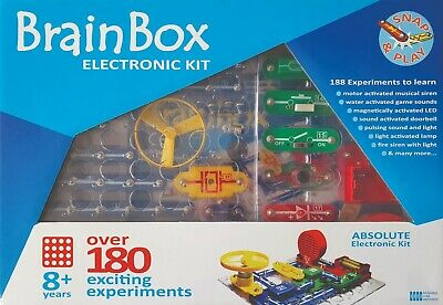 AU63.90 • Buy New BrainBox Over 180 Experiments Kids Electronic Kit STEM Learning Make & Play