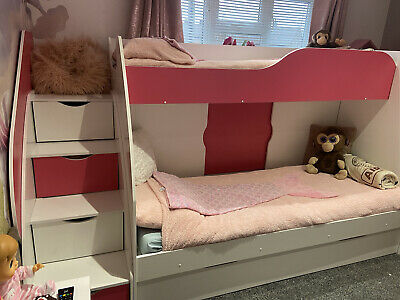 Bunk Bed With Storage Stairs • 200£