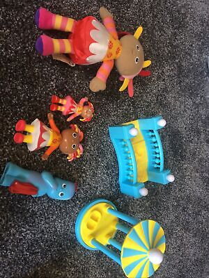 Bundle Of In The Night Garden Toys Iggle Piggle Upsy Daisy • 2£