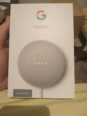 AU21 • Buy Google Nest Mini (2nd Generation) Smart Speaker - Chalk