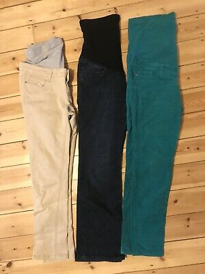 H&M/Mothercare Size 14 Maternity Teousers/Jeans 3-piece Bundle • 6.99£