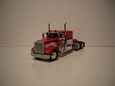 $ CDN83.54 • Buy Dcp First Gear 1/64 Red And White Kenworth W900a With 60'' Flat Top Sleeper