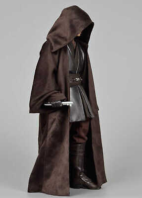 $ CDN115.13 • Buy Star Wars Custom 1/6 Jedi Robe Cloak For Hot Toys Dark Side Anakin Skywalker Fig