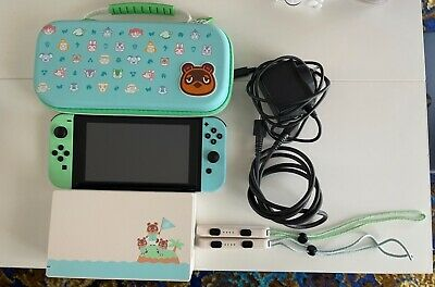 AU550 • Buy Animal Crossing Limited Edition Nintendo Switch With Mario Games
