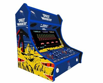 £449.99 • Buy 2 Player Bartop Arcade Machine Space Invaders Themed Design 3188 Games Included