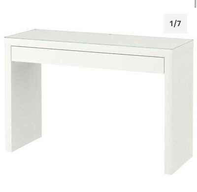 Malm Ikea Dressing Table Desk White With Drawer • 75£