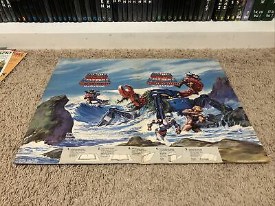 $18 • Buy Fall 1986 #8 He-Man Masters Of The Universe MOTU Magazine Poster MONSTROID