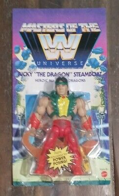 $33.99 • Buy WWE MASTERS OF THE UNIVERSE Unpunched Card. Wave 5 Series Ricky Steamboat MOTU